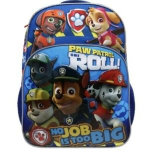 Paw Patrol 16'' Backpack Bookbag With Motion Light